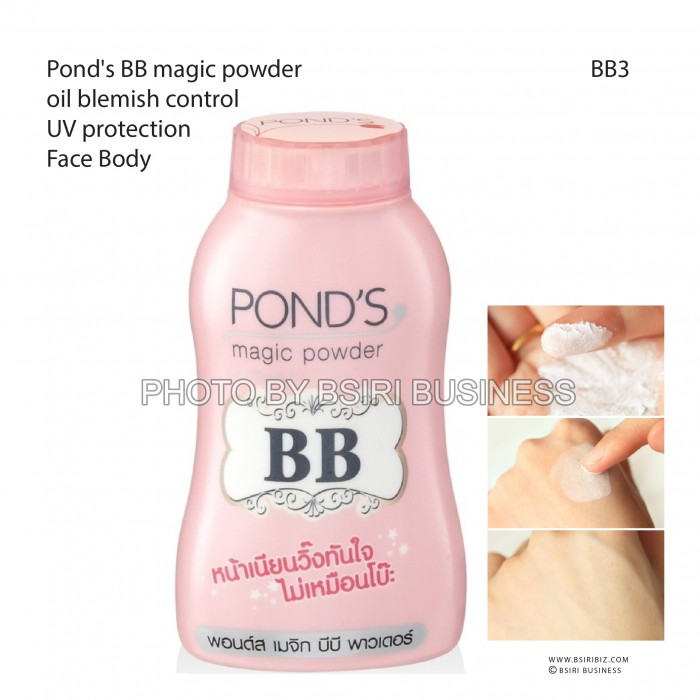 Ponds Powder Logo Free Worldwide Postage