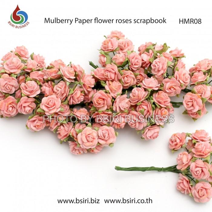 100 mulberry paper rose flower handmade 15 cm scrapbooking wedding free worldwide postage mightylinksfo